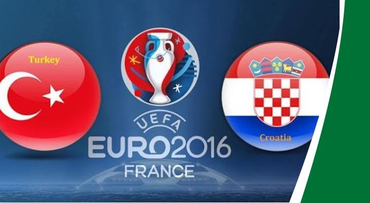 بث مباشر لمباراة تركيا و كرواتيا