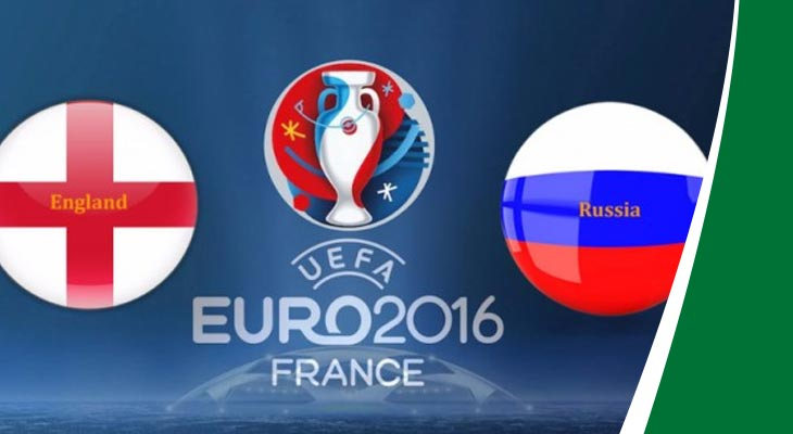 بث مباشر لمباراة إنجلترا وروسيا