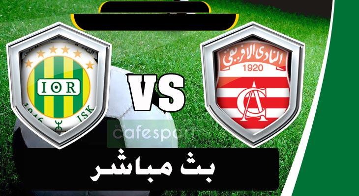 بث مباشر لمباراة النادي الإفريقي -شبيبة القبائل الجزائري