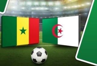 بث مباشر لمباراة الجزائر - السنيغال