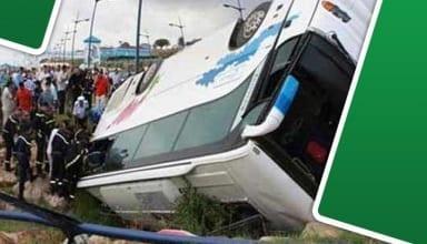 وفاة لاعب وإصابة 17 آخرين من الملعب التونسي في انزلاق حافلة اللاعبين