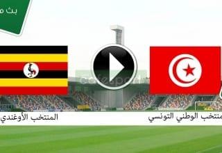 بث مباشر لمباراة تونس - أوغندا