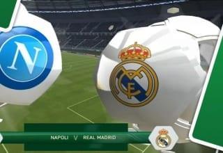 بث مباشر لمباراة ريال مدريد ونابولي