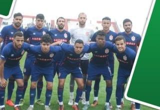 تشكيلة النادي الإفريقي لمواجهة نادي حسين داي الجزائري