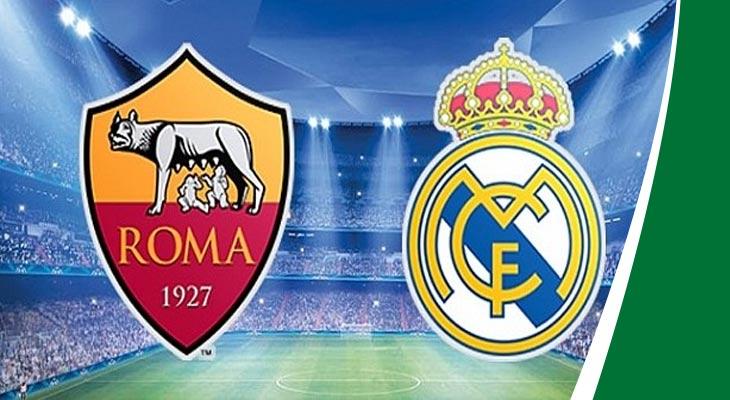 مباراة ريال مدريد وروما