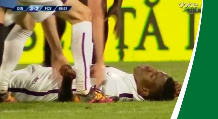 بالفيديو وفاة لاعب أثناء مباراة فريقه في الدوري الروماني