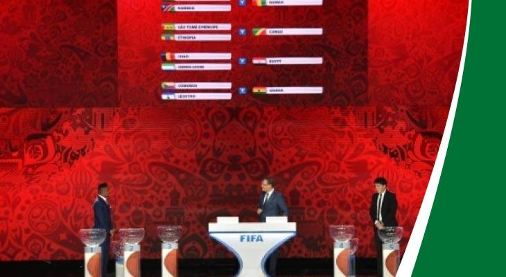 تائج قرعة تصفيات كأس العالم روسيا 2018: تونس في المجموعة الأولى
