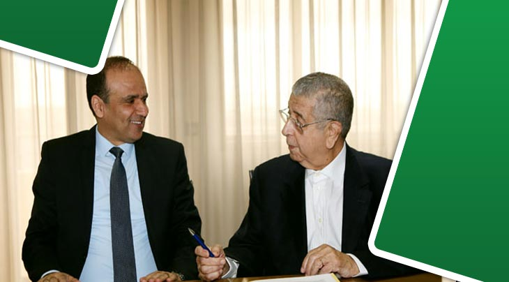 اتفاقية استشهار بين الجامعة التونسية لكرة القدم و كـــوكا كولا