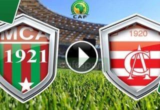 بث مباشر لمباراة النادي الافريقي - مولودية