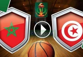 بث مباشر لمباراة تونس - المغرب