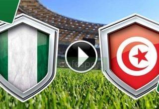 بث مباشر لمباراة تونس - نيجيريا