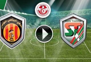 بث مباشر لمباراة الملعب التونسي - الترجي الرياضي