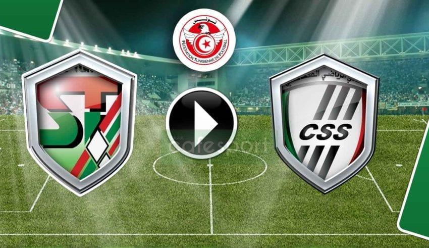بث مباشر لمباراة النادي الصفاقسي - الملعب التونسي