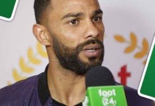 ماذا قال صابر خليفة بعد تتويجه بلقب لاعب الشهر؟