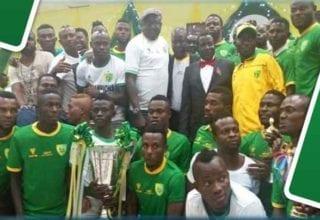بالفيديو فكرة على بلاتو يونايتد النيجيري منافس النجم الرياضي الساحلي