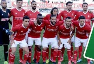 التشكيلة الأساسية للنجم الساحلي في مواجهة الملعب التونسي