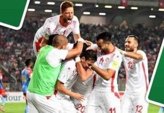 التشكيلة الأساسية لمباراة تونس و بلجيكا