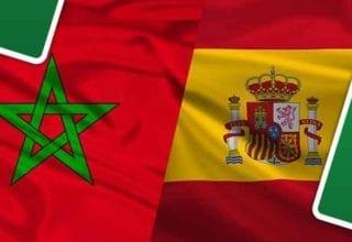 بث مباشر لمباراة المغرب - إسبانيا