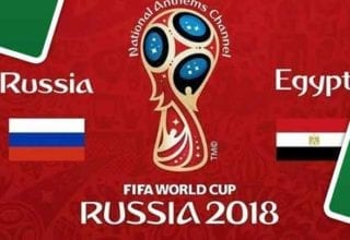 بث مباشر لمباراة مصر وروسيا