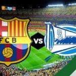 فيديو : اهداف مباراة برشلونة وديبورتيفو ألافيس