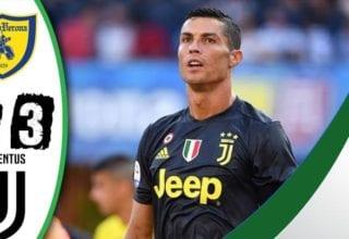 فيديو : اهداف مباراة يوفنتوس وكييفو فيرونا