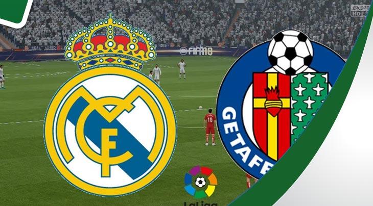 أهداف مباراة ريال مدريد 2 خيتافي 0