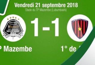 اهداف مباراة مازيمبي وبريميرو دي اوجوستو