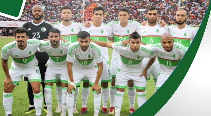 قائمة المنتخب الجزائري المستدعاة لمواجهة البنين