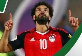 بالفيديو هدف رائع لمحمد صلاح يدخل به تاريخ مصر
