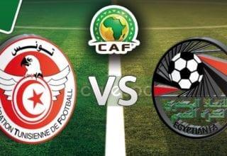 أهداف مباراة مصر -تونس