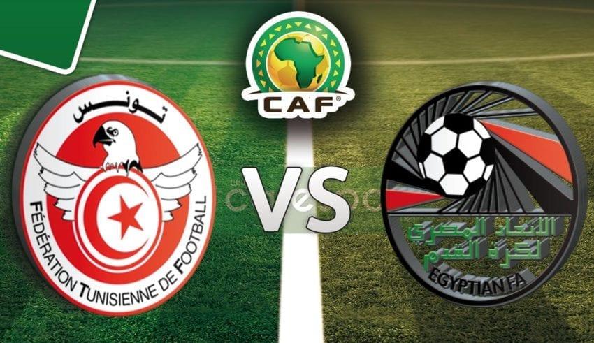 بث مباشر لمباراة مصر تونس مقهى الرياضة