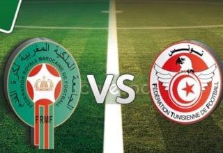 بث مباشر لمباراة تونس -مغرب