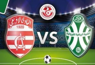 اهداف مباراة شبيبة القيروان والنادي الافريقي