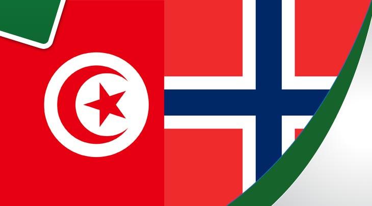بث مباشر لمباراة تونس - النرويج