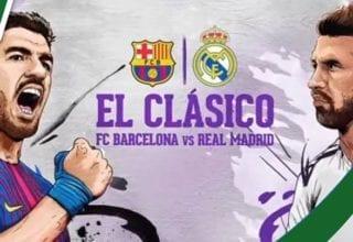 ملخص مباراة برشلونة و ريال مدريد
