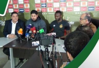 الندوة الصحفية للترجي قبل مباراة أورلاندوا غدا