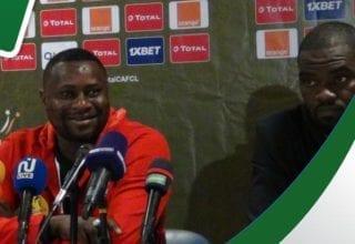 الندوة الصحفية للفريق مازمبي وأخر حصة تدريبية قبل مباراة الإفريقي