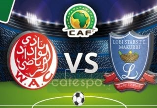 ملخص مباراة لوبي ستارز النيجيري - الوداد المغربي