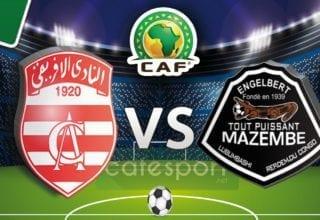ملخص مباراة مازيمبي الكونجولي - الإفريقي