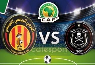 ملخص مباراة .. أورلاندو بايرتس الجنوب إفريقي 0-0 الترجي الرياضي التونسي