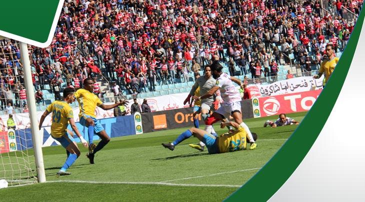صور مباراة الافريقي والاسماعيلي