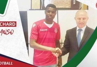 بينما النجم ينتظر تأهيله دانصو يشارك مع منتخب غانا !!!