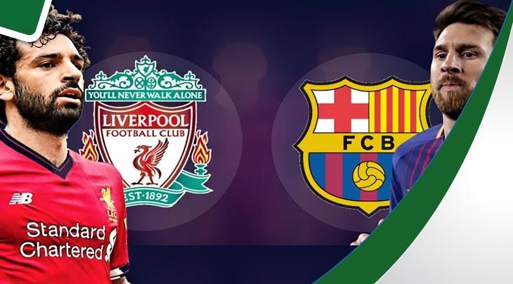 رابطة الابطال.. ليفربول وبرشلونة يكملان عقد الفرق المتأهل الى ربع نهائي المسابقة