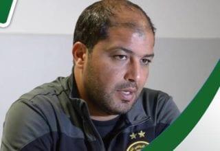 ندوة صحفية لمعين الشعباني قبل الرحلة الى الدوحة