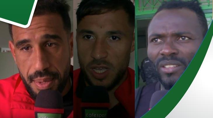 تصريحات كل من يوسف بلايلي سامح الدربالي وفرانك كوم بعد المباراة الملعب التونسي
