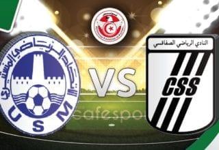 بث مباشر لمباراة النادي الصفاقسي - الاتحاد المنستيري