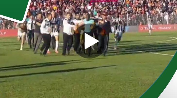 نشرت فيديو يثبت العنف قناة إسبانية تورط النادي الصفاقسي