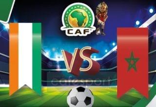 المغرب vs ساحل العاج