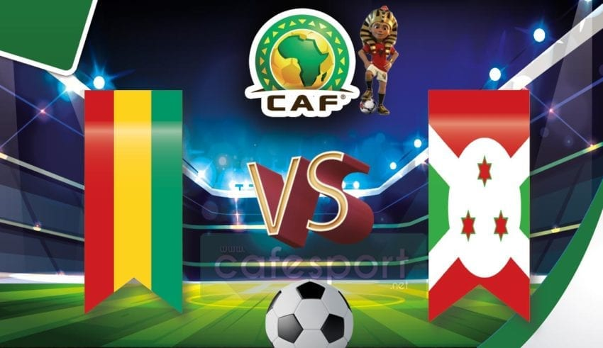 بوروندي vs غينيا