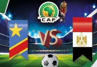 مصر vs الكونغو الديموقراطية